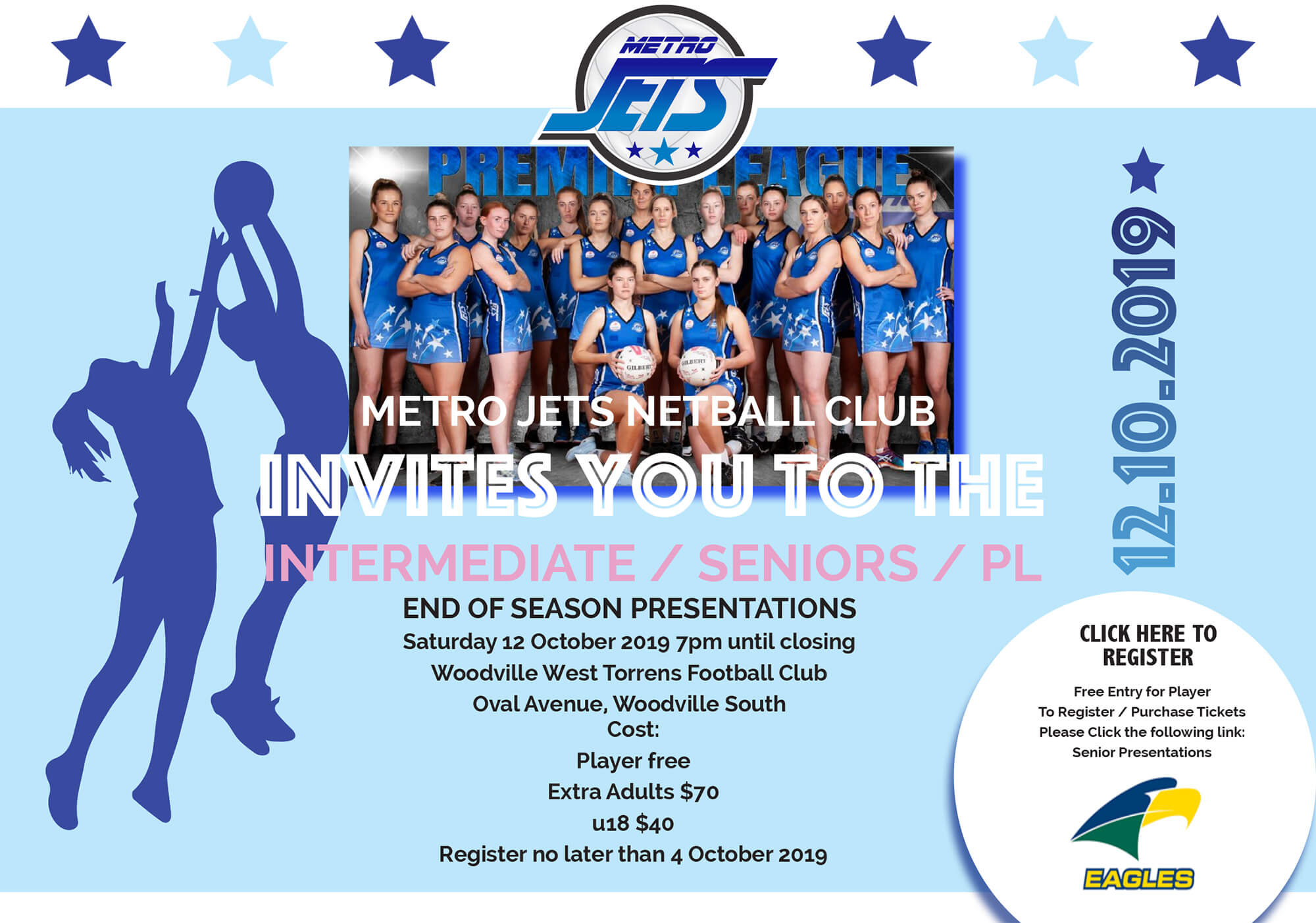 Seniors & Inters Presentations - Metro Jets - 2019