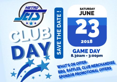 Metro Jets Club Day 2018