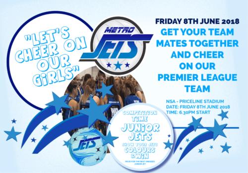 Metro Jets Junior Competition 2018